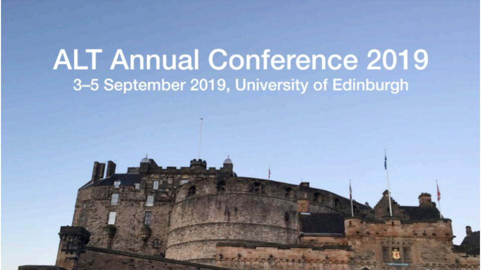ALT Annual Conference 2019 flyer image