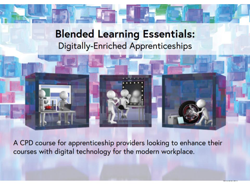 Blended Learning Essentials postcard image