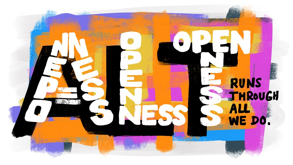 Openness runs through everything we do image