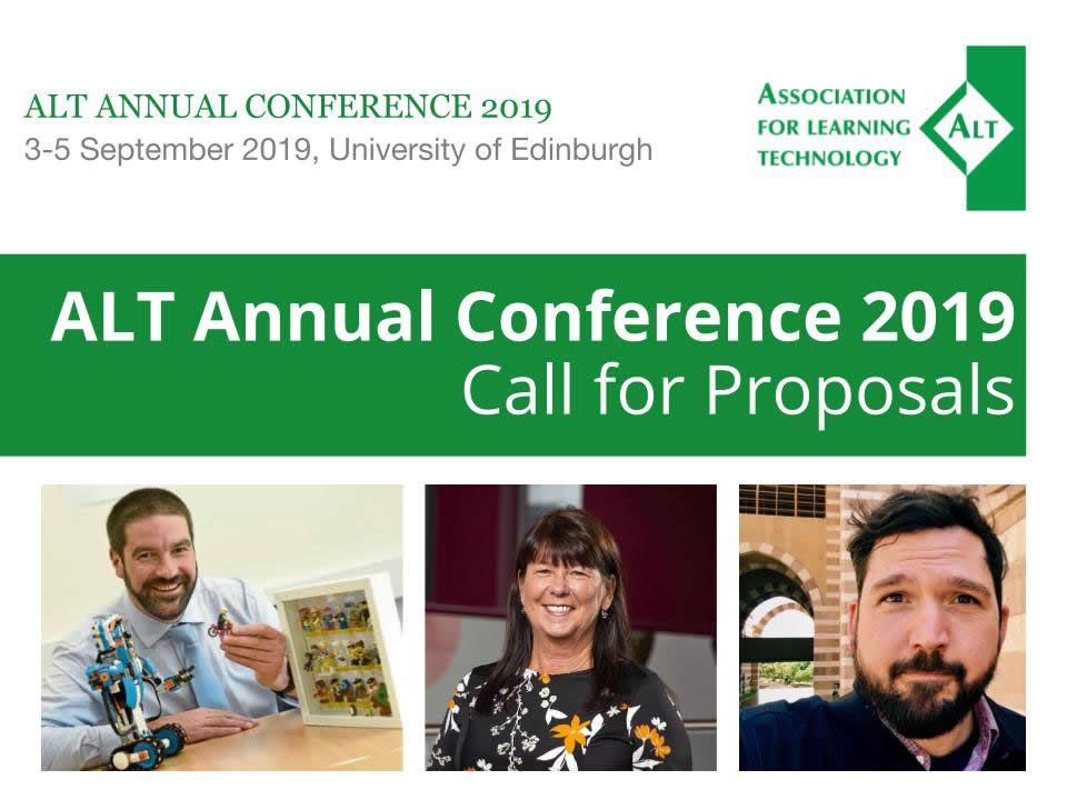 ALT Annual Conference 2019 - Call for Proposals