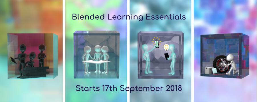 Blended Learning Essentials - free CPD programme starts 17 September