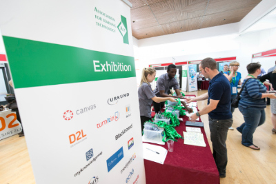 Exhibition area at Annual Conference 2016