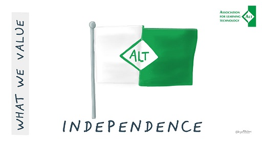 "Image of ALT's value ""Independence"""