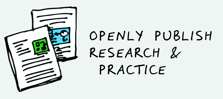 Openly publish research and practice image