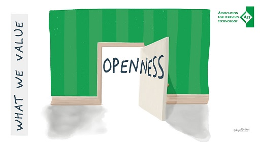 "Image of ""Openness"" from the ALT strategy"