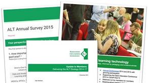 Have your say - complete theALT Annual Survey 2015