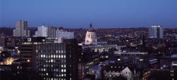 Nottingham at night