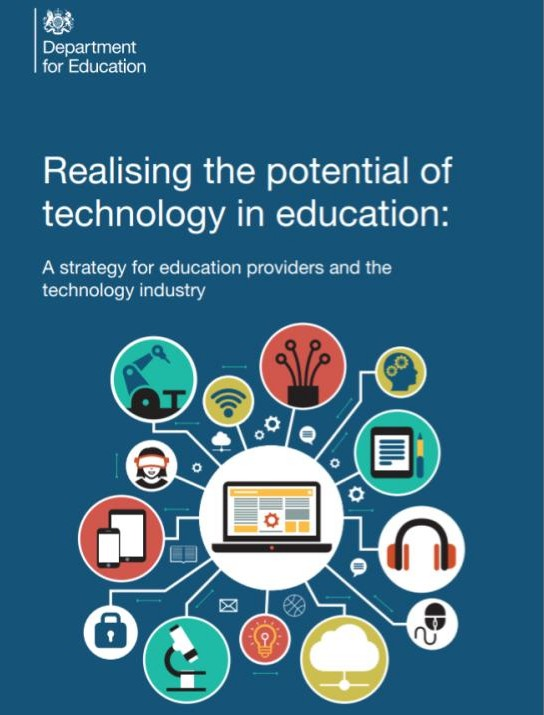 DfE EdTech Strategy front page