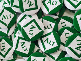 ALT Pin Badges