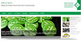 Check out the #ALTC Blog