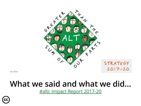 ALT's Impact Report 2017-2020