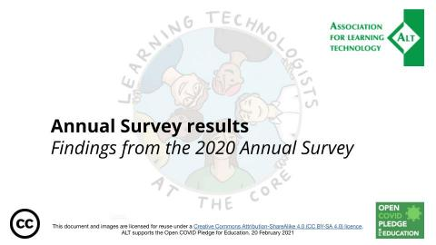 Key findings from the Annual Survey