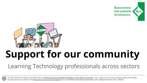 Support for our community
