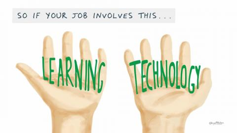 Learning Technology hands