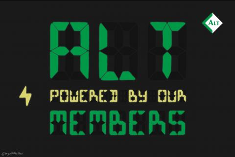 ALT powered by our members image