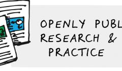 Openly publish research & practice image