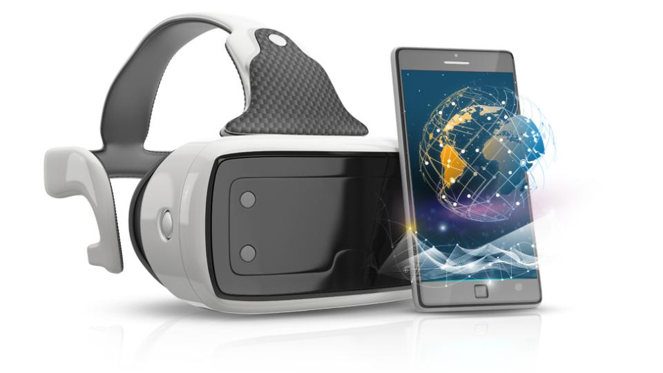 Virtual reality mobile learning image